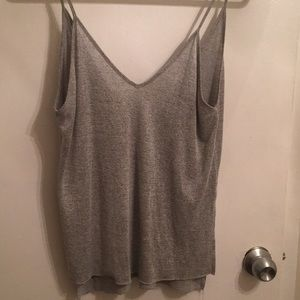 Lulu's Relaxed Fit Grey Tank